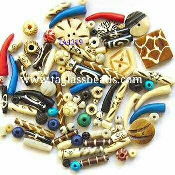 Mix Bone beads