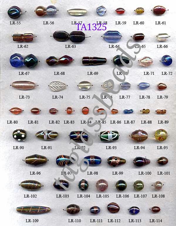 Lustre Glass Beads