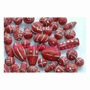 Clay mix beads