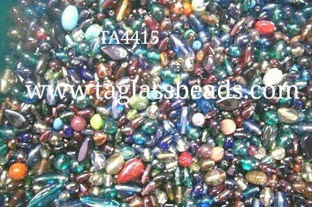 Mix Glass Beads Lustre