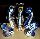 "Glass bubbler  5"" 100 gm price $ 5.00"
