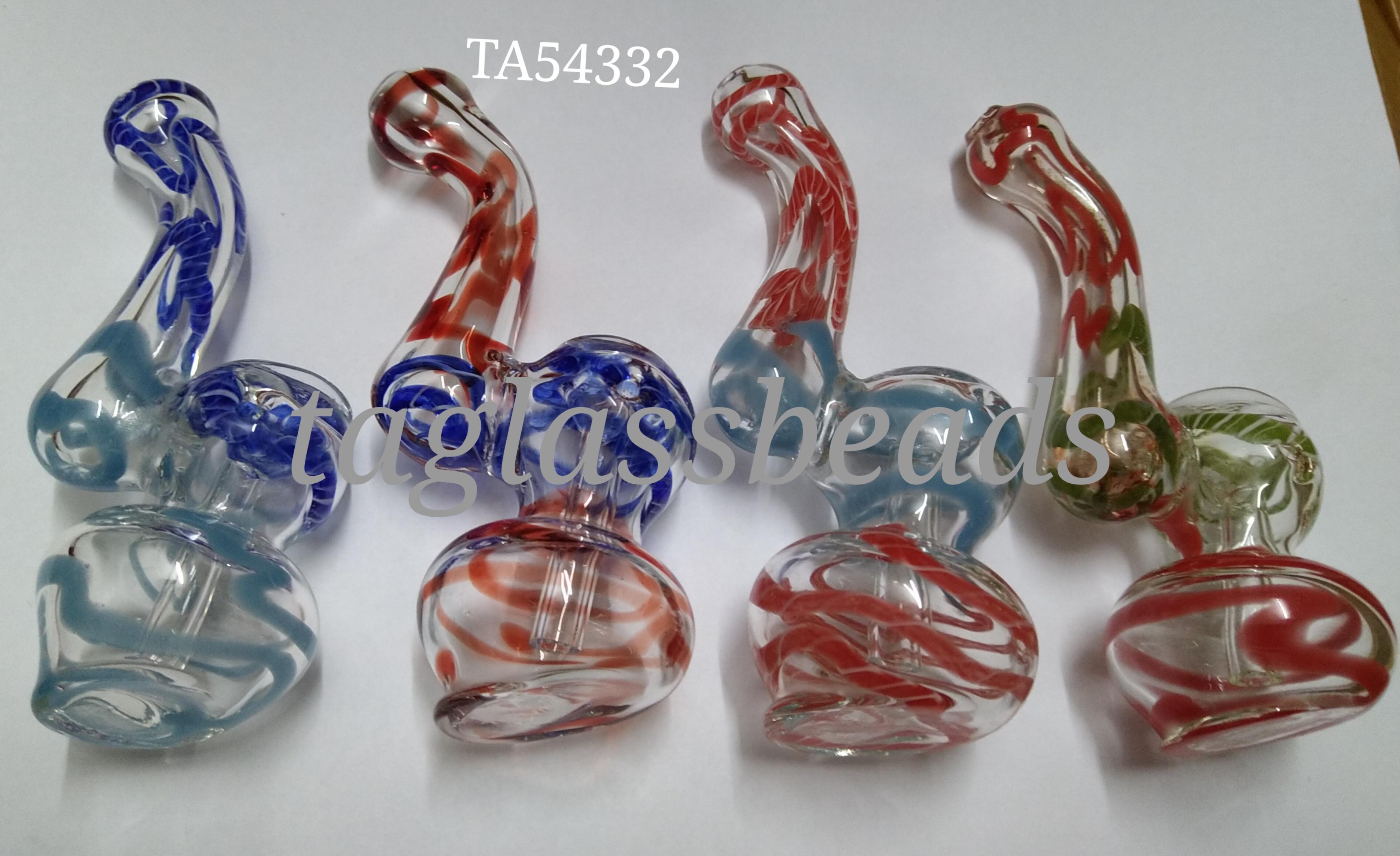 "Glass bubbler  4""60 gm price $ 2.50"