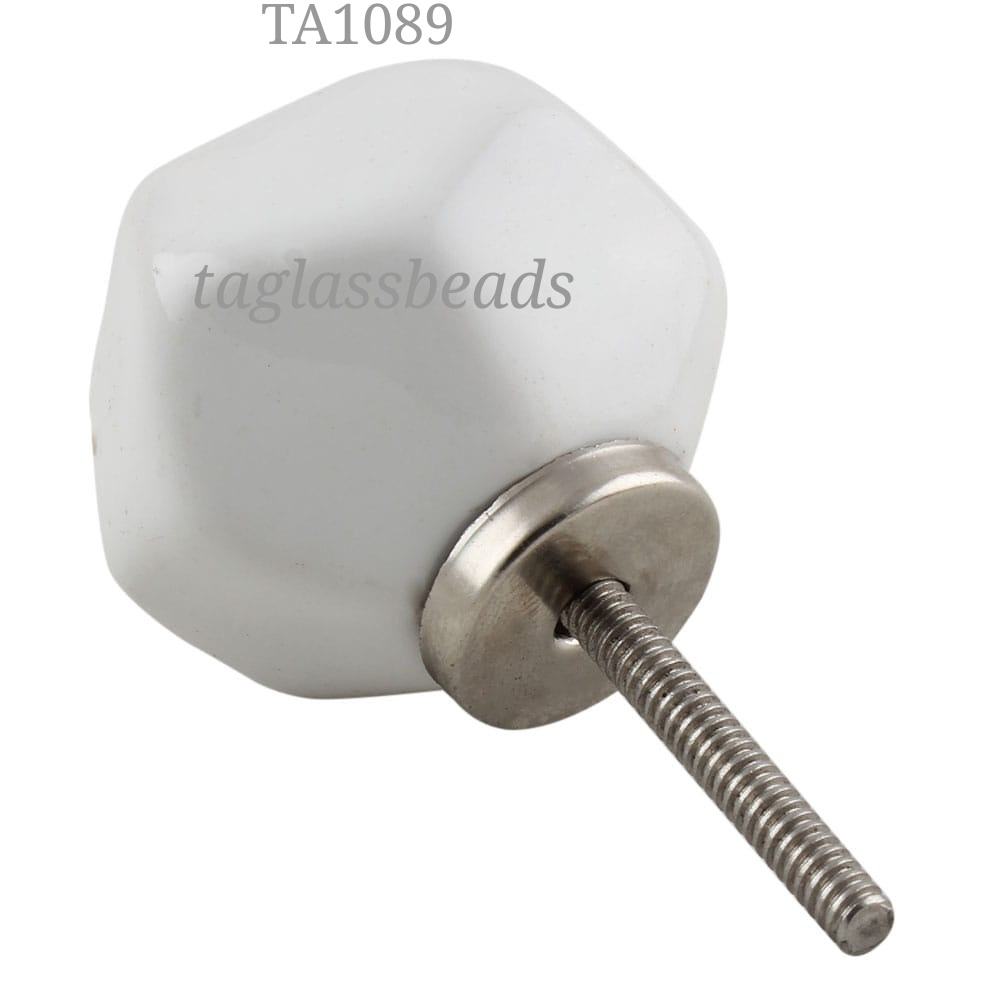 CERAMIC DOOR KNOB 40 MM PRICE $ 0.25