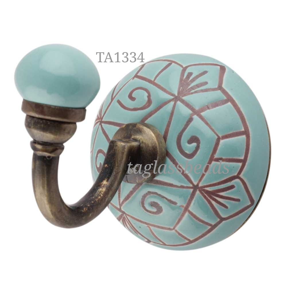 CERAMIC DOOR KNOB 42 MM PRICE $ 0.90