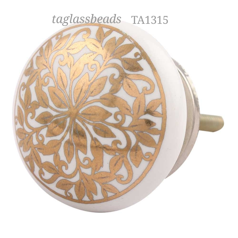 CERAMIC DOOR KNOB 42 MM PRICE $ 0.40