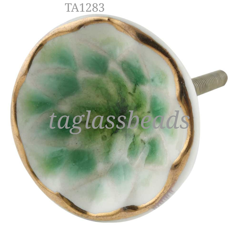 CERAMIC DOOR KNOB 40 MM PRICE $ 0.55