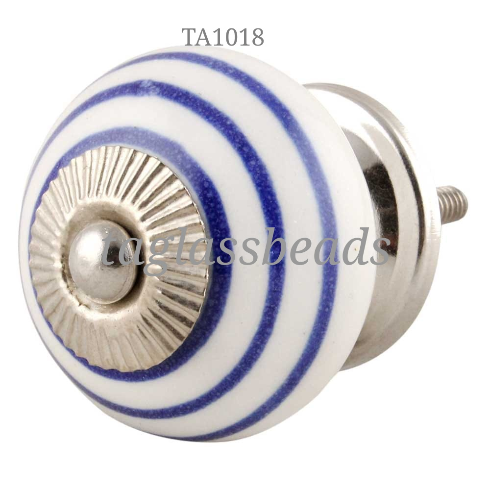 CERAMIC DOOR KNOB 42 MM PRICE $ 0.25